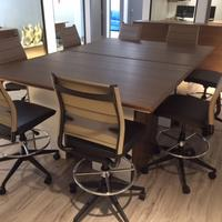 Wit Stool/Custom Meeting Table