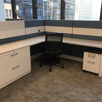 Trendway Capture Workstations/Sit On It Focus Seating