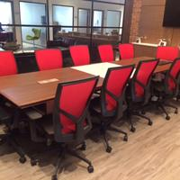 Torsa Chair/Custom Boardroom Table